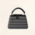 Louis Vuitton | Black and White Plaited Leather Capucines | BB