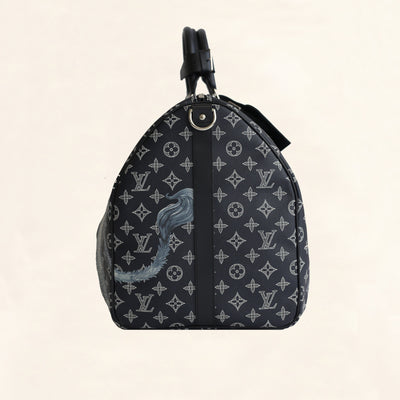 Louis Vuitton | Chapman Brothers Keepall | Bandouliere 55 - The-Collectory