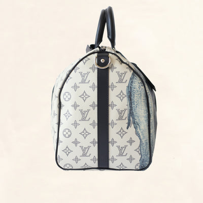 Louis Vuitton | Dune Savane Monogram Chapman Brother's Keepall | 45 - The-Collectory