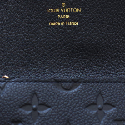 Louis Vuitton | Black Empreinte Coin/Key Pouch | One-Size - The-Collectory
