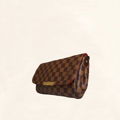 Louis Vuitton | Canvas Damier Ebene Favorite | MM - The-Collectory