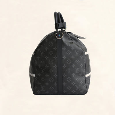 Louis Vuitton | Fragment Keepall | 55 Bandouliere - The-Collectory