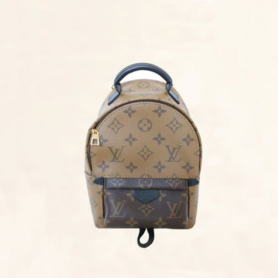 Louis Vuitton | Reverse Monogram Palm Springs Backpack | Mini - The-Collectory