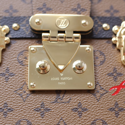 Louis Vuitton | Monogram Reverse Canvas Petite Malle | OS - The-Collectory
