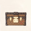Louis Vuitton | Monogram Reverse Canvas Petite Malle | OS
