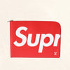 Louis Vuitton | Supreme Red Epi Pochette Jour | GM - The-Collectory