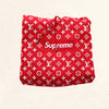 Louis Vuitton | Supreme Logo Box Hoodie Monogram | Red - The-Collectory