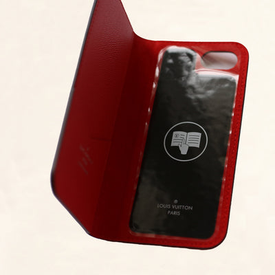 Louis Vuitton | Supreme Epi iPhone 7 Cover | Red - The-Collectory