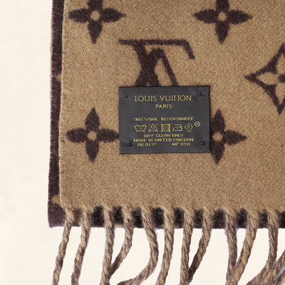 Louis Vuitton | Supreme Scarf | Brown