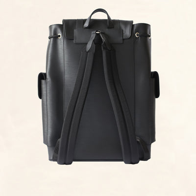 Louis Vuitton | Supreme Epi Christopher Backpack | Black - The-Collectory