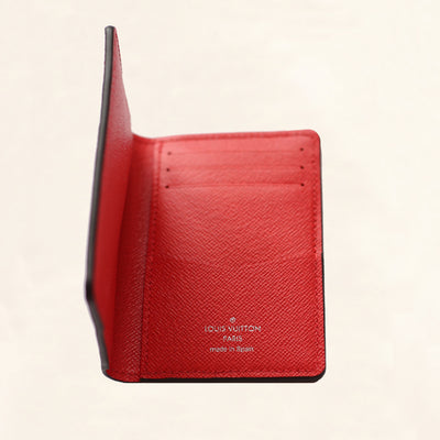 Louis Vuitton | Supreme Epi Pocket Organizer Wallet | Red - The-Collectory
