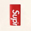 Louis Vuitton | Supreme Brazza Long Wallet Epi | Red