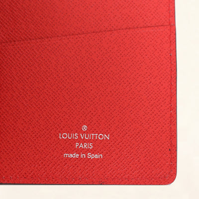 Louis Vuitton | Supreme Brazza Long Wallet Epi | Red - The-Collectory