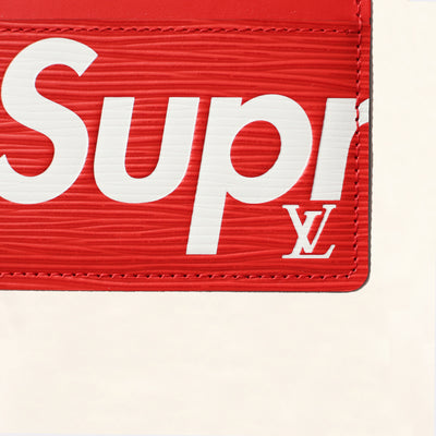 Louis Vuitton | Supreme Epi Card Holder | Red - The-Collectory