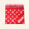 Louis Vuitton | Supreme Scarf | Red - The-Collectory