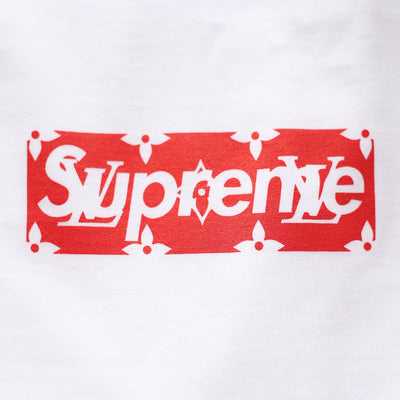Louis Vuitton | Supreme T-shirt | White - The-Collectory