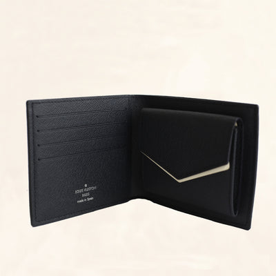 Louis Vuitton | Canvas Chapman Men's Wallet | One-Size - The-Collectory