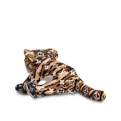 Louis Vuitton | Doudou Tiger Monogram Jungle George | GI0392 - The-Collectory