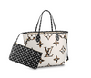 Louis Vuitton | Giant Jungle Monogram Neverfull Ivoire with Pouch | M44716 - The-Collectory