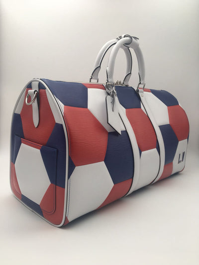 Louis Vuitton |FIFA WORLD CUP French Team Keepall Bandouliere 50 | PO1078 - The-Collectory