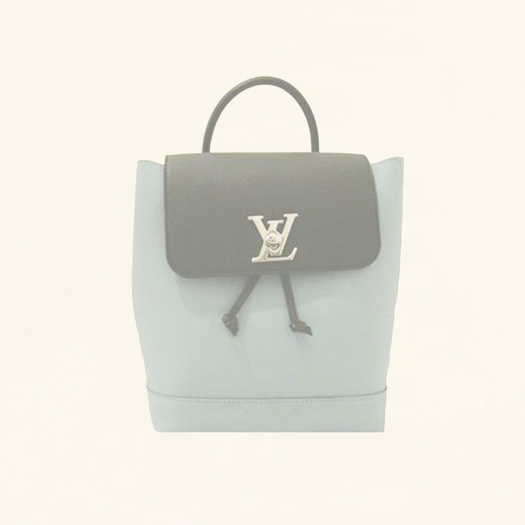 e10ebcd7c4f86 Louis Vuitton | Calfskin Lockme Backpack | Pastel Baby Blue - The-Collectory
