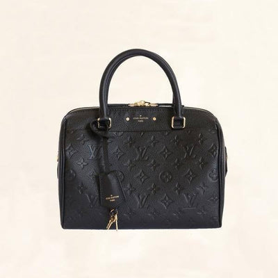 Louis Vuitton | Empreinte Leather Speedy Bandouliere | 25 - The-Collectory