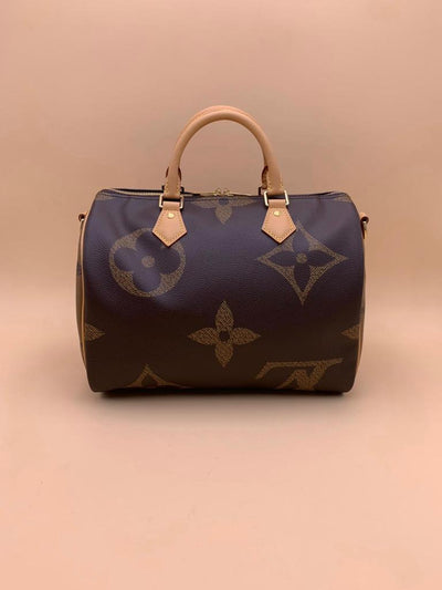 Louis Vuitton | Giant Monogram Speedy bandouliere | 30 - The-Collectory