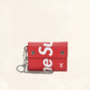 Louis Vuitton | Supreme Chain Wallet Epi Red | M67755 - The-Collectory