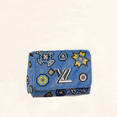 Louis Vuitton | Epi-Leather Twist Series Azteque Print | MM - The-Collectory