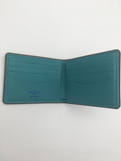 Louis Vuitton Pacific Blue Monogram Slender Wallet | M62248 - The-Collectory