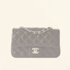 Chanel | Caviar Mini Rectangular Flap Bag | Black with Silver Hardware