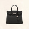 Hermès | Black Togo Birkin with Silver Hardware | 30 - The-Collectory
