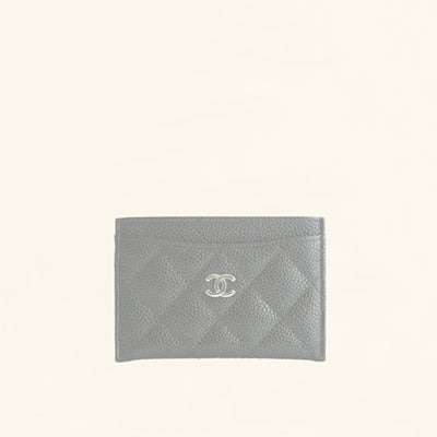 Chanel | Caviar Card Holder with SHW | One Size - The-Collectory