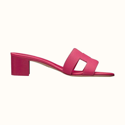 Hermes Pink Fuchsia Oasis Sandal - The-Collectory