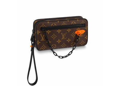 Louis Vuitton Pochette Volga Monogram with Black Hardware