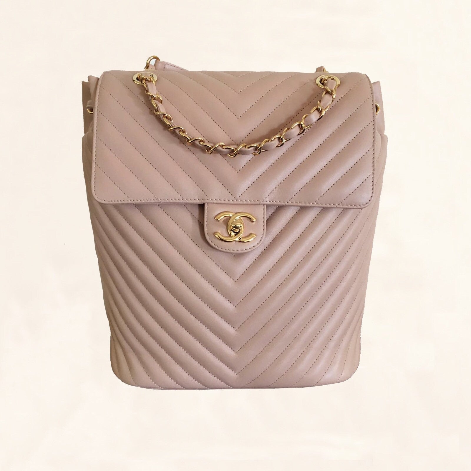 7629bc2c2359 Chanel | Chevron Urban Spirit Backpack | Large - The-Collectory