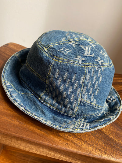 Louis Vuitton | Nigo Damier Giant Wave Monogram Sun Hat | MP2733