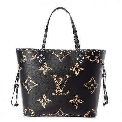 Louis Vuitton | Giant Jungle Monogram Neverfull Black | M44676 - The-Collectory