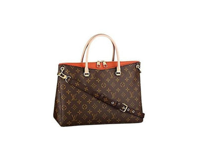 Louis Vuitton | Canvas Pallas Clementine | PM - The-Collectory