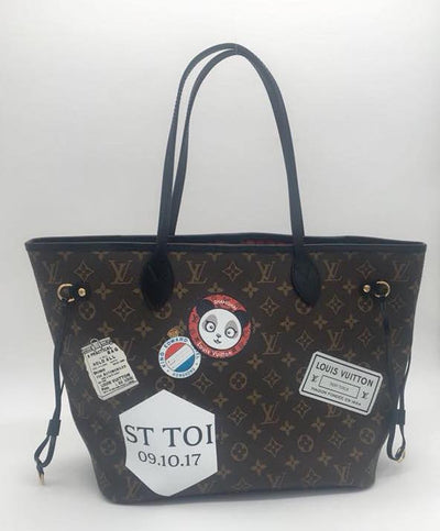 Louis Vuitton | My World Tour Monogram Neverfull | MM - The-Collectory