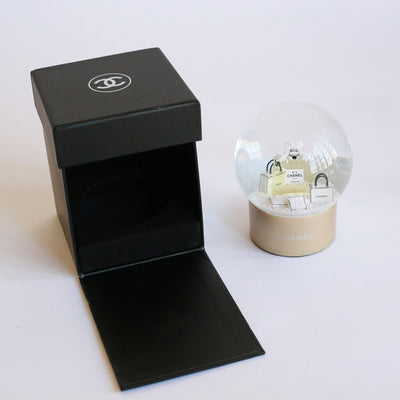 Chanel | Snow Globe Perfume Shopping Bag | Medium - The-Collectory