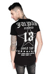 Judas Sinned World Tour Crystal T-Shirt - Black