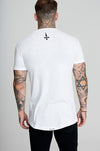 Judas Sinned Scratch T-Shirt - White
