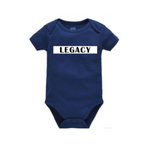 Legend Legacy Onesie - LEGACY - Navy Blue Onesie with White and blacktext - MoKa Queenz