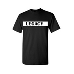 Legend Legacy Kids T Shirts - Legacy - White T-shirt with white text- Moka Queenz