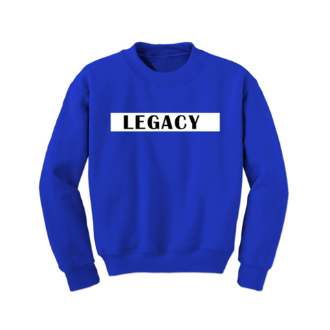 Toddler Sweatshirt - Legacy Sweatshirt - Royal - MoKa Queenz