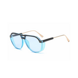 Vintage and Retro Sunglasses - Top Down - Blue - MoKa Queenz