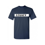 Legend Legacy Kids T Shirts - Legacy - Navy Blue T-shirt with white and black text- Moka Queenz