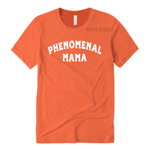 Phenomenal Woman Shirt | Phenomenal Mom Shirts | Orange T-shirt with White text | MoKa Queenz