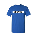 Legend Legacy Kids T Shirts - Legacy - Royal Blue T-shirt with white and black text- Moka Queenz